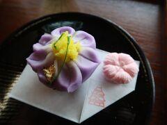 松江城と練り切り和菓子