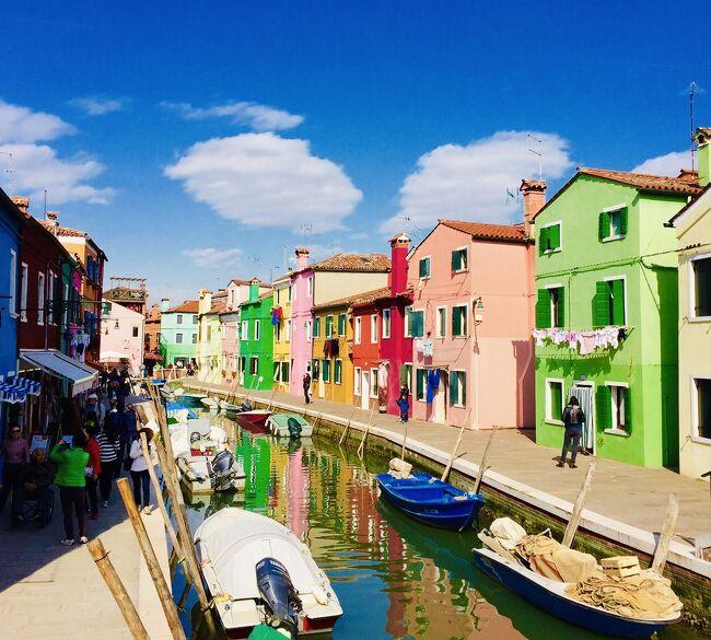 ☆ イタリア〜Murano島 & Burano島 ☆