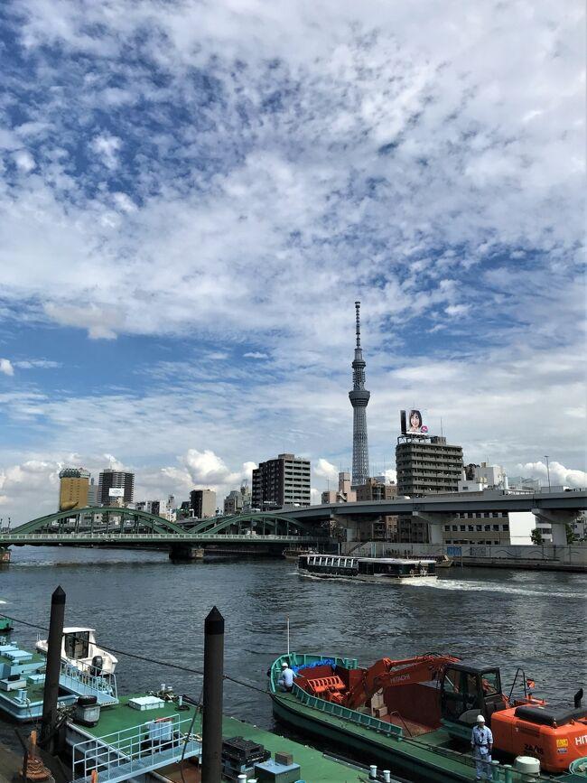 東京の夏休み♪<br />東京からの小さな旅。<br />つくばエクスプレスでつくば市へ。<br />土浦市在住の姉宅を訪問した2日目の旅日記です。<br /><br />土浦の見どころは筑波山と霞ケ浦。<br />今回も兄の運転で志ち乃で買い物をして<br />霞ケ浦周辺をドライブして<br />珈琲倶楽部なかやまに行ってみました♪<br /><br /><br />表紙写真は<br />隅田川からの東京スカイツリーです。<br />