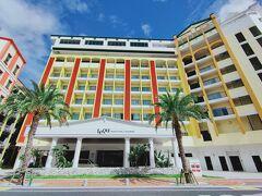 沖縄でインフィニティプールのホテルに泊まる「レクー沖縄北谷スパ&リゾートその1」