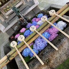 早くもリピート☆おごと温泉 びわこ緑水亭、寄り道は藤森神社・あじさい苑