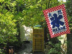 埼玉の旅2021〈2〉阿左美冷蔵のかき氷、長瀞散策(岩畳)など