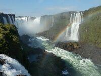 2021MAY初めての南米ブラジル・乾季で水が少ないイグアスの滝とイタイプ水力発電所見学、カッパなんか要らない
