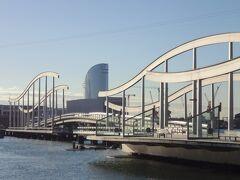 """初めてのバルセロナ 18(イタリア・スペイン・ポルトガル・オランダ 12日間の旅 7-18)これぞ港街バルセロナ!""""海のランブラス"""""""