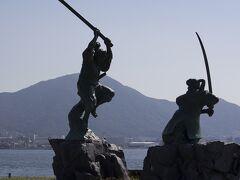 関門海峡の巌流島訪問記2014