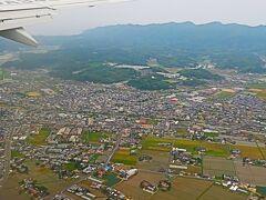 JAL285便 出雲空港18:20着 羽田~フライト85分 ☆山陰海岸・中海・宍道湖を眼下に