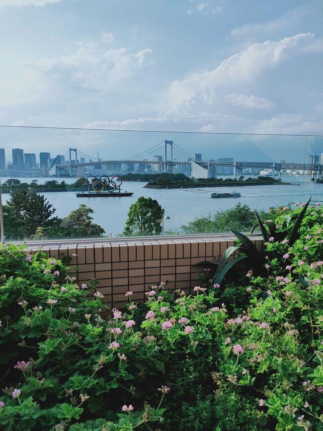 お台場で屋外ジャグジーのホテルに泊まる「ヒルトン東京お台場その1」