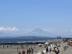 6・8歳連れ、湘南鵠沼海岸でお手軽日帰りリゾート満喫