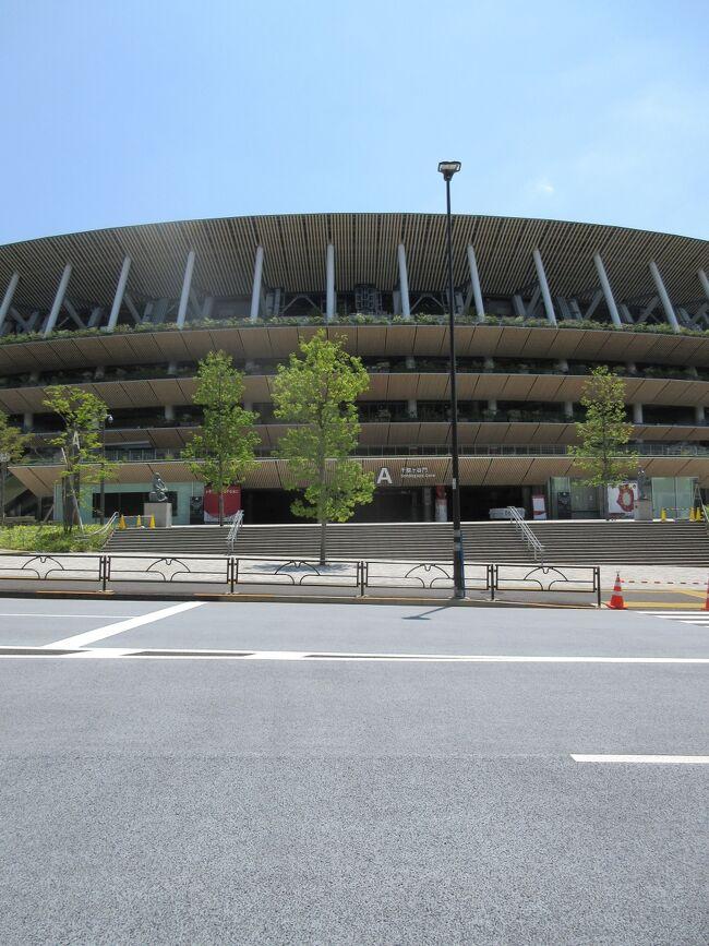もうじきオリンピックが始まるので偵察に行ってきました。<br /><br />コース:信濃町から千駄ヶ谷駅まで歩いてみました。