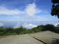 大山登山、山頂は遠かった