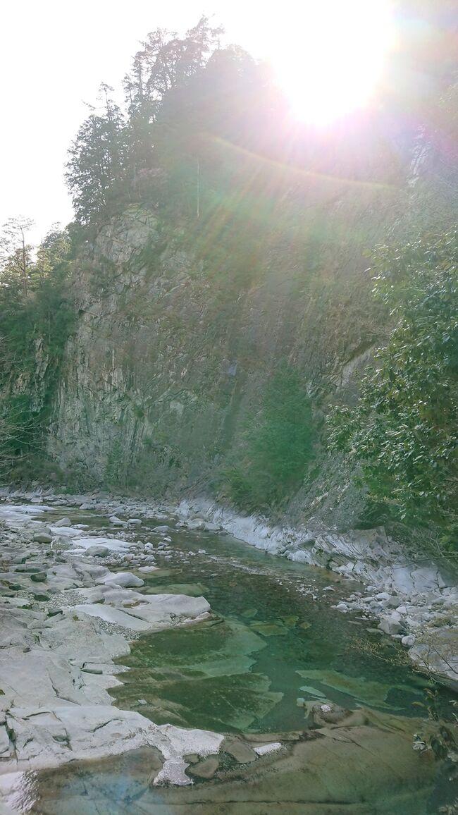 高知県 いの町 UFOラインと愛媛県 面河渓谷の仁淀ブルー