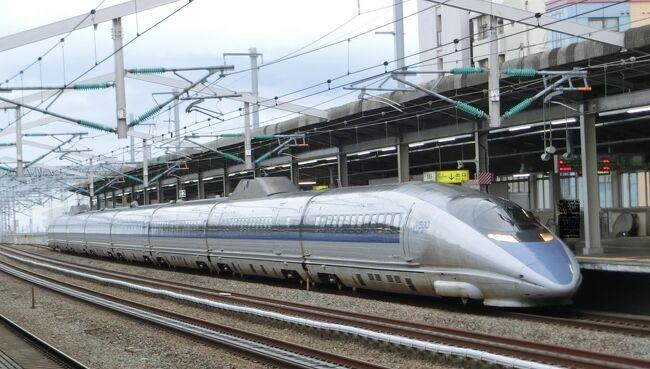 少し盛り上がる?新幹線と岡山駅の旅