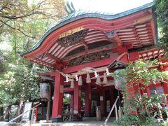 産まれて初めて、産土神社の雪が谷八幡宮を参拝!