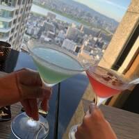2021年7月  移りゆく大阪の景色を満喫☆インターコンチネンタル大阪コーナースイートで過ごす休日♪「赤白」~「堀内果実園」~「少彦名神社」