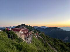 北アルプスの夏休み2~燕山荘から稜線歩きと下山編~