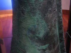 島根16 出雲-3 古代出雲歴史博物館b  銅鐸・銅剣*全て国宝!  ☆金色の銅剣も復元
