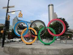 '20東京オリンピック開幕を'96オリンピック開催地にて観る【1日目】