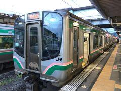 2021年7月青春18きっぷの旅7(奥羽本線・東北本線乗り継いで郡山へ)