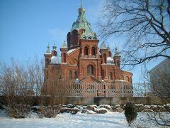 ロシア正教のウスペンスキー大聖堂