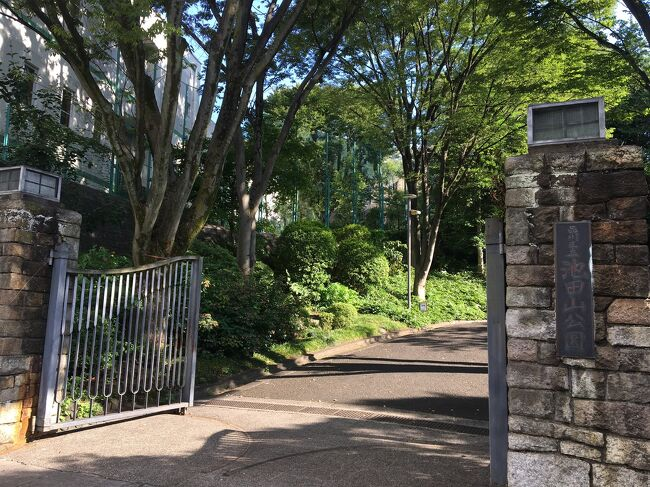五反田駅からスタートし、目黒方面へ。<br />美しい庭園公園の「ねむの木の庭」や日本風の庭園「池田山公園」のある池田山エリアや、お寺を参拝しました。<br />静かなで落ち着いた住宅街をのんびり歩くお散歩になりました。<br />