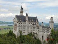 ローテンブルクからノイシュバンシュタイン城、ヴィース教会経由でミュンヘンへ