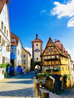 ☆ ドイツ~Rothenburg ob der Tauber おとぎの世界へようこそ ☆