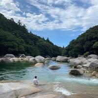7歳子連れ ペーパードライバーの屋久島ネイチャーツアー  Day2 川と海で水遊び 昆虫ハンティング
