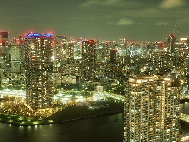 東京のホテルで夜景を堪能してきました、