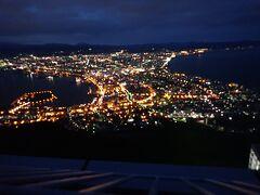 北海道ツーリング 6日目 函館山へ夜景を見に行きました。