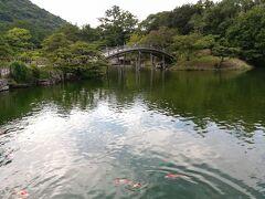 四国現存天守と別府の旅 その1:7/27 栗林公園