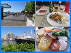 JALファーストクラスでシドニー(14)ダーリングハーバーの休日。Nicksでステーキディナー&Baiaイタリアンでモーニング