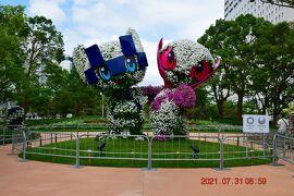 【東京散策119-1】大会開催中のお台場周辺の聖火やオリンピック会場を歩いてみた《有明~聖火台》
