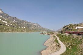 2013年スイス旅行記 第2回 ベルニナ線でアルプ・グリュムへ