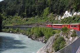 2013年スイス旅行記 第3回 ベルニナ・アルブラ線で世界遺産の光景を堪能