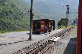 2013年スイス旅行記 第4回 氷河急行のルートをたどる