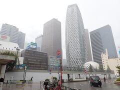2021年8月新宿再開発<更地の明治安田火災生命ビル跡地とミロードとPCR検査>