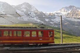 2013年スイス旅行記 第6回 ユングフラウ散策 登山鉄道でユングフラウヨッホへ