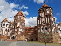 ベラルーシ 世界遺産登録の二つのお城めぐり ネスヴィジ城とミール城巡り