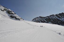 2013年スイス旅行記 第7回 ユングフラウ散策 ユングフラウヨッホからメンヒスヨッホヒュッテまで雪原を歩く