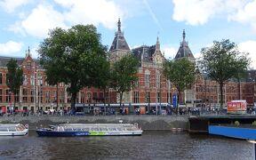 2016夏オランダの旅12:アムステルダムは運河クルーズ日和