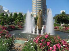 初夏の横浜(4)横浜ローズウィーク2021@山下公園~横浜の港を眺めながら