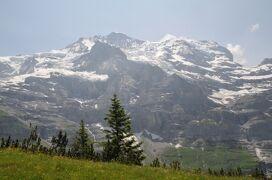 2013年スイス旅行記 第8回 ユングフラウ散策 クライネシャイデックからミューレンへ
