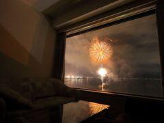 とにかく「密」を避けろ~の旅4・ホテルの部屋から夏の風物詩「諏訪湖サマーナイト花火」鑑賞の旅~