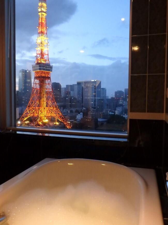 ホテルステイを楽しむ旅*3度目のザ・プリンスパークタワー東京はクラブコーナールームでビューバス堪能*