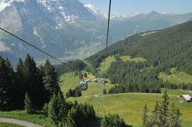 2013年スイス旅行記 第12回 ユングフラウ散策 メンリッヒェン往復後、ブリエンツへ