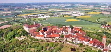 ドイツ2012年・麗しの5月:ホーエンローエ地方の古城群その1ヴァルデンブルク城・ノイエンシュタイン城