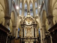 2019年ベルギーのX'sマーケット巡り【41】アントワープ:聖ヤコブ教会