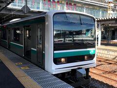 常磐線で仙台へ(北海道10泊旅行NO.1)