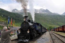 2013年スイス旅行記 第18回 フルカ山岳蒸気鉄道に乗るべく、レアルプ駅へ