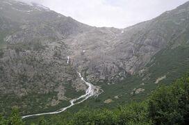 2013年スイス旅行記 第20回 フルカ山岳蒸気鉄道のSL列車に乗車 後編